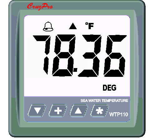 WTP110 Precision Sea-Water Temperature Gauge